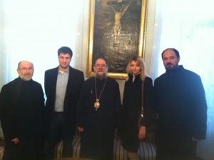 Уређивачки одбор код епископа сремског